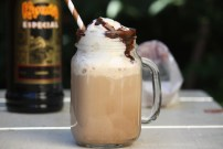 Salted Coffee Kahlua Shake
