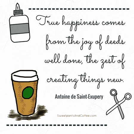 Happiness Is Creating