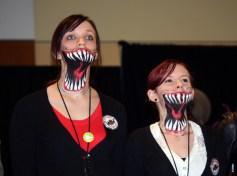 Supernatural BurCon 2013 Leviathan cosplayers