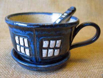 Tardis Soup Mug