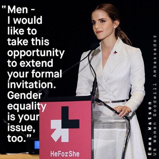 Emma Watson HeForShe UN speech