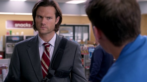14 Supernatural Season 10 Episode 1 S10E1 Black Sam Winchester Jared Padalecki