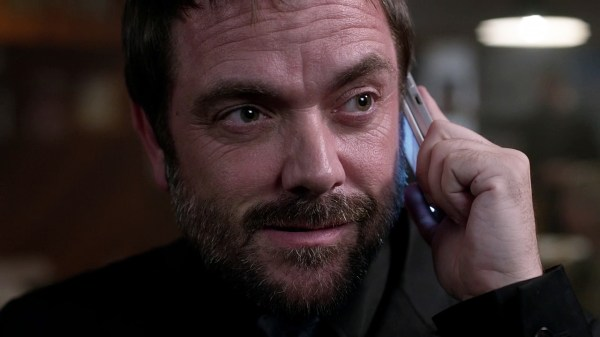 16 Supernatural Season 10 Episode 1 S10E1 Black Crowley Mark Sheppard