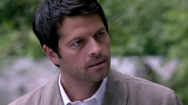 19 Supernatural Season 10 Episode 1 S10E1 Black Castiel Misha Collins
