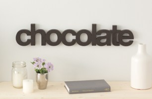 Wordbilly Chocolate sign