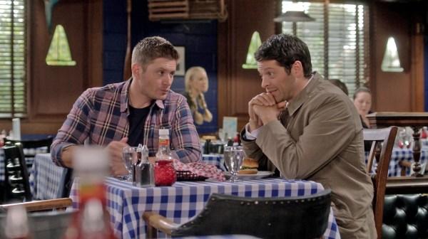 13 Supernatural Season Ten Episode Nine SPN S10E9 The Things We Left Behind Dean Winchester Jensen Ackles Castiel Jimmy Novak Misha Collins
