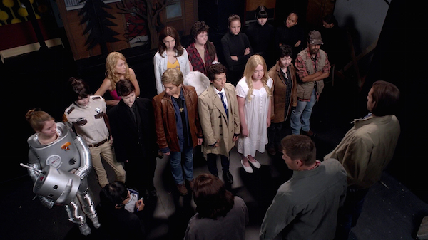 18 Supernatural Season Ten Episode Five SPN S10E5 Fan Fiction Play Cast Sam Dean Winchester 200th Episode
