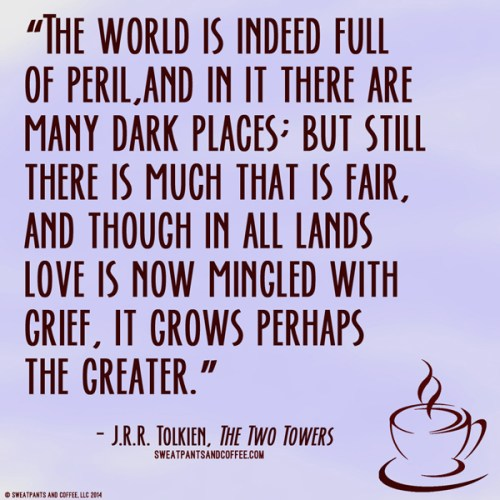 Tolkein Two Towers quote