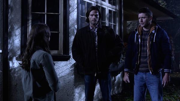 21 Supernatural Season Ten Episode Twelve SPN S10E12 About A Boy Sam Dean Winchester Jensen Ackles Jared Padalecki Young Tina Madeleine Arthur