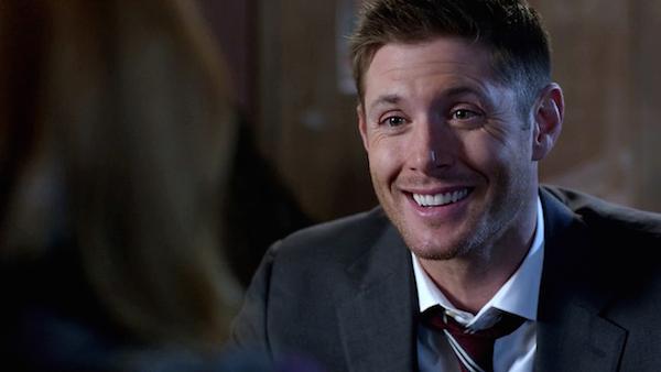 3 Supernatural Season Ten Episode Twelve SPN S10E12 About A Boy Dean Winchester Jensen Ackles smile
