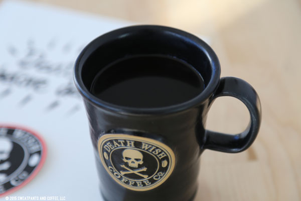 death wish coffee to
