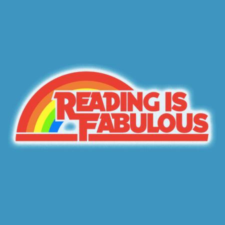 Reading Is Fabulous tshirt closeup
