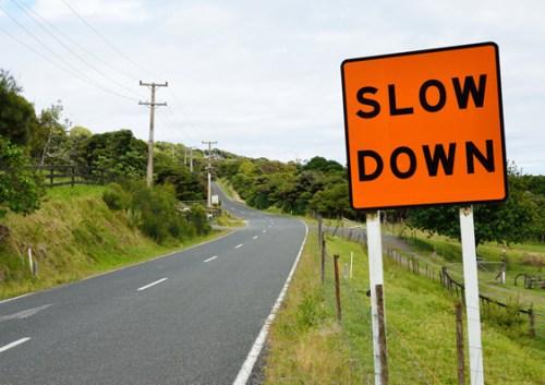Slow down by Tristan Schmurr_
