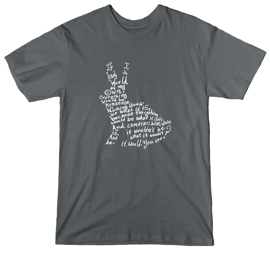 Through The Looking Glass tshirt