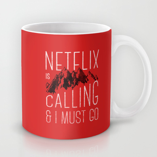 Netflix Is Calling by Zeke Tucker