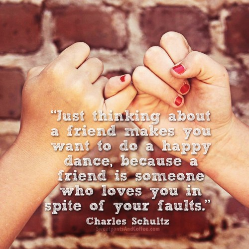 10 - Charles Schultz quote happy dance