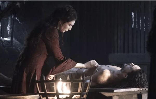 GOT 6x2 Melisandre & Jon