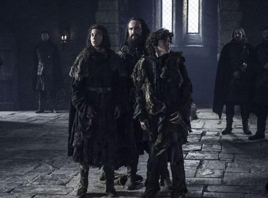 Game of Thrones 6x3 Osha & Rickon