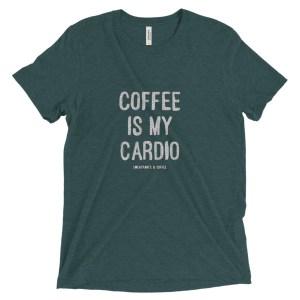 Coffee is my Cardio Short sleeve t-shirt