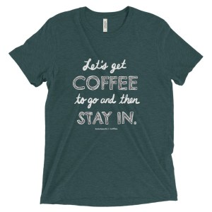 Introvert's Coffee To Go Short sleeve t-shirt