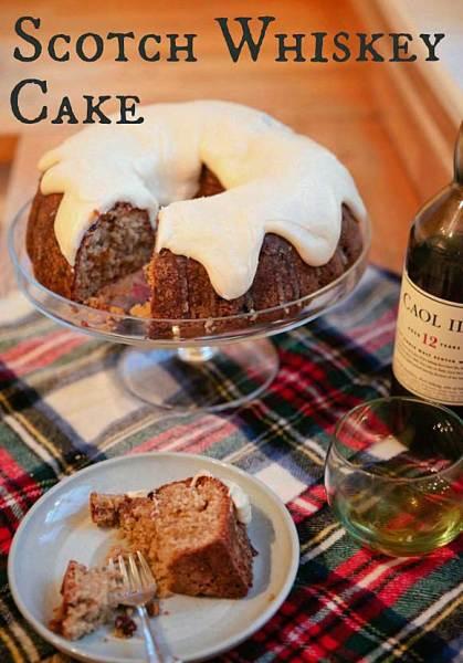 Scotch Whiskey Cake by Catch My Party