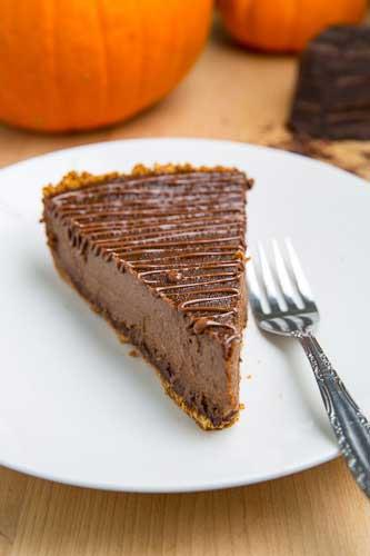 Triple Chocolate Pumpkin pie recipe