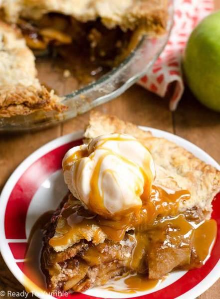 Brown Sugar Bourbon Apple pie recipe