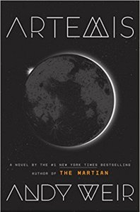 Artemis A Novel by Andy Weir