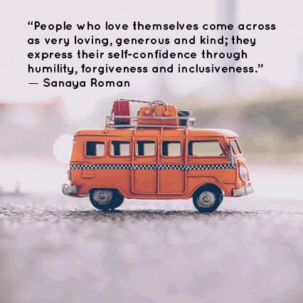 Sanaya Roman kindness quote