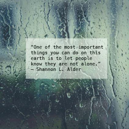 Shannon L Alder kindness quote