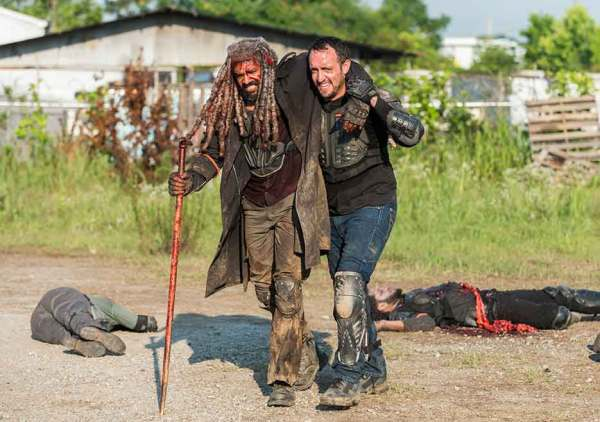 The Walking Dead season 8 episode 4 Some Guy Khary Payton Ezekiel