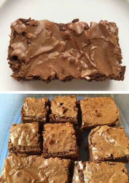 Cappuccino Brownies recipe by The Improving Cook
