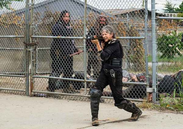 The Walking Dead season 8 episode 4 Some Guy Khary Payton Ezekiel Cooper Andrews Jerry Carol Melissa McBride