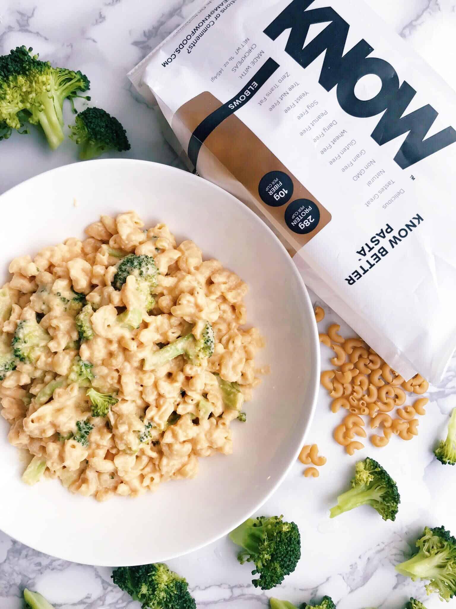 Our Super Easy + Cheesy Vegan Broccoli Mac