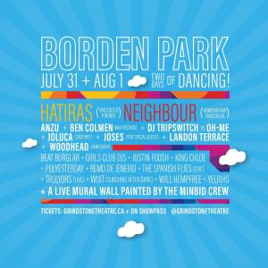 Disco In the Park Borden poster
