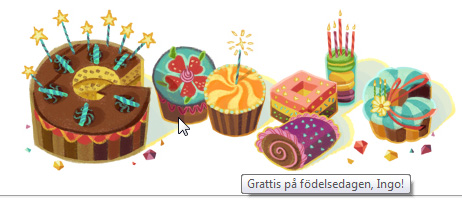 Google says Grattis