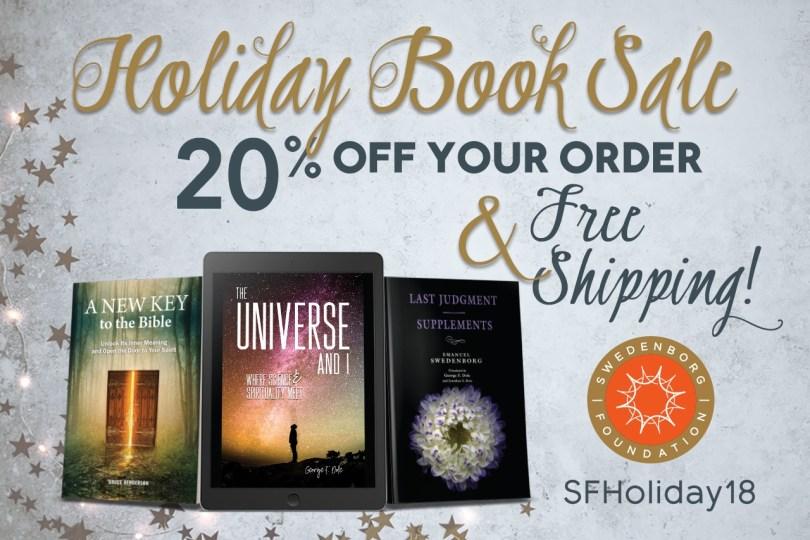 2018 Holiday Book Sale–Enjoy 20% Off & Free Shipping – Swedenborg