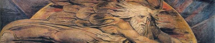 William Blake, Elohim Creating Adam (1795)