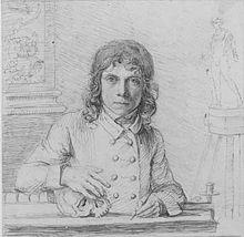 John Flaxman, Self-Portrait (1779)