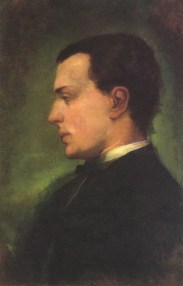 Henry James, Portrait by John LaFarge (1862)
