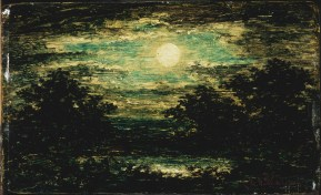 Ralph Albert Blakelock, Moonlight (late 1880's)