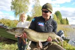 big pike fishing holiday