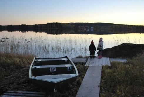 Enjoy the silence. skivsjo lake.