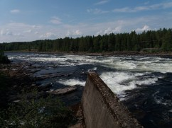 Vindeln River rapids