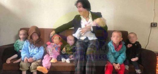 وصول أطفال الإرهابي السبعة إلى السويد