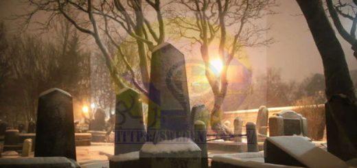 الدفن وتحلل الجسد