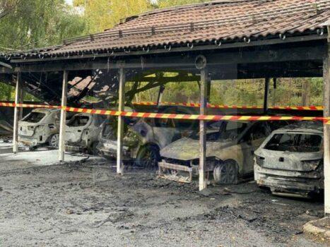 حرائق وانفجار وإحراق عشرات السيارات في ستوكهولم