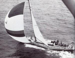 Fidelis Sydney - Hobart Race 1966 © Cruising Yacht Club of Australia