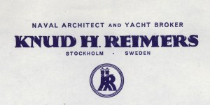 Reimers letterhead with a logo similar to A&R