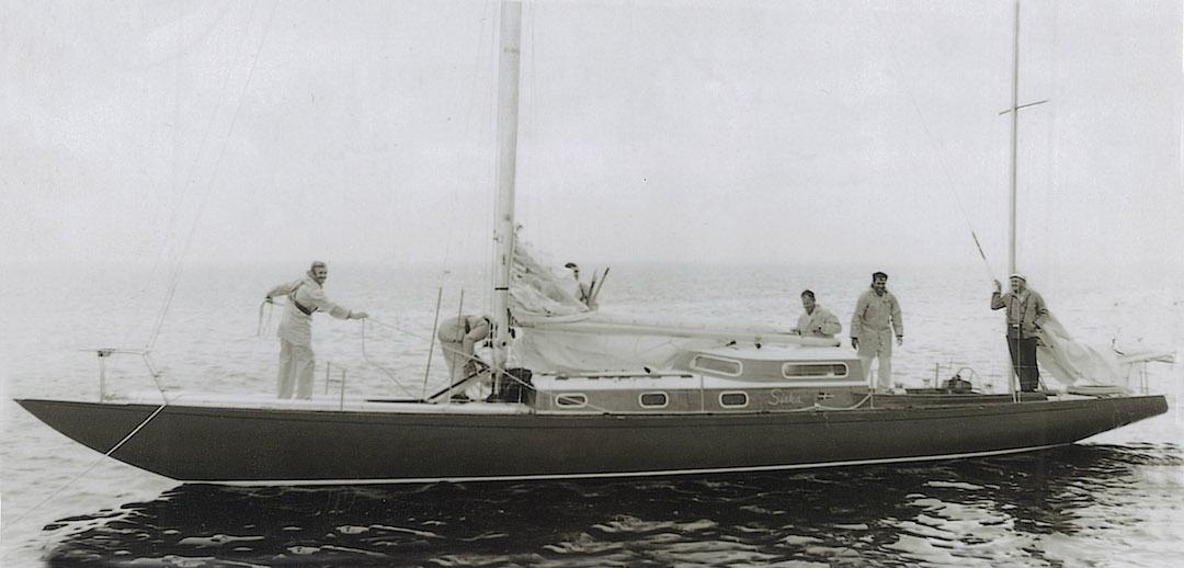 Siska 1969 in Südwest Australien nach der Fremantle – Albany Regatta © Rolly Tasker Archiv